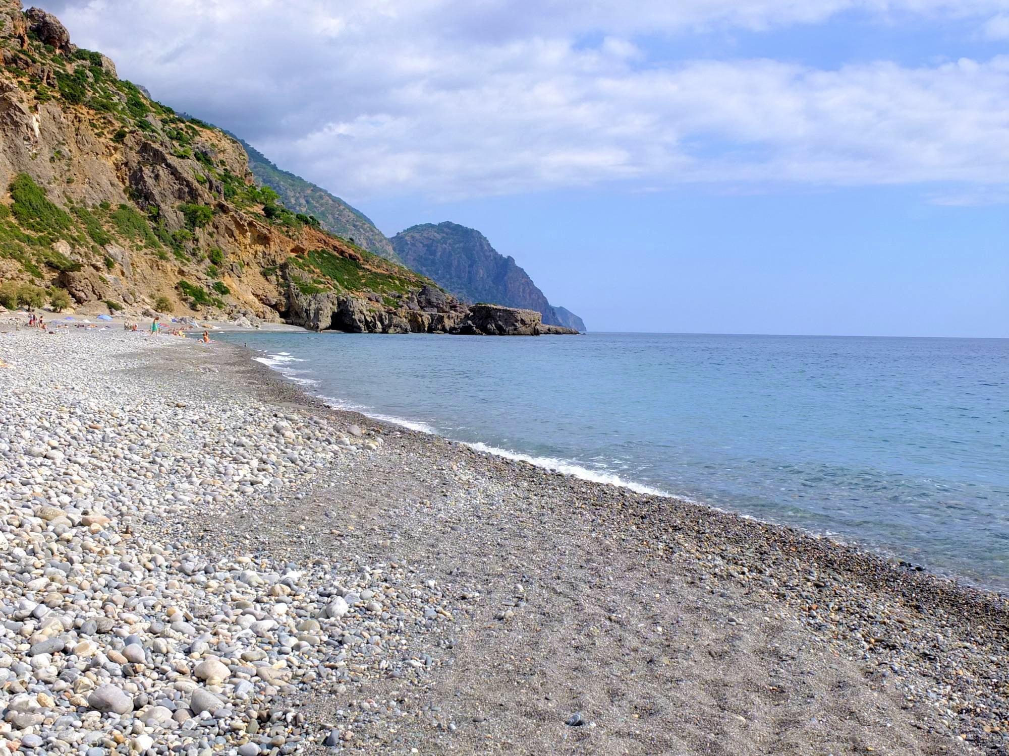 selino travel agency sougia beach photo